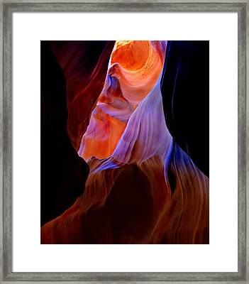 Bottled Light Framed Print by Mike  Dawson