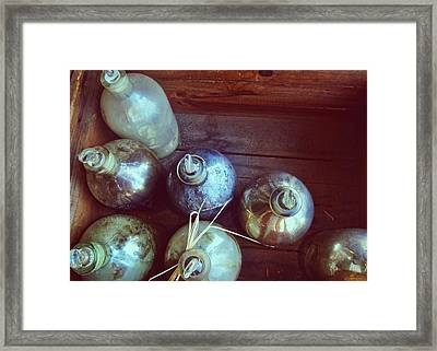 Bottled Time Framed Print by JAMART Photography