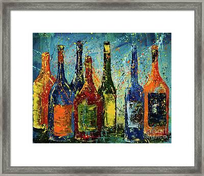 Bottled Up Framed Print by Jodi Monahan