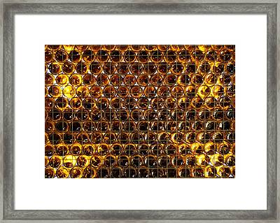 Bottles Of Beer On The Wall Framed Print