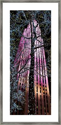 Bottom Of The Rock Framed Print by Az Jackson