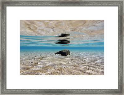 Bottom Rock Framed Print