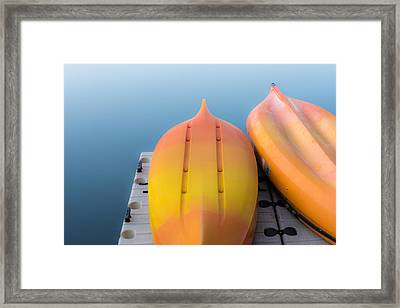Bottoms Up Framed Print