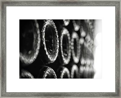 Framed Print featuring the photograph Bottoms Up by Lora Lee Chapman