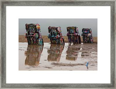 Framed Print featuring the photograph Bottoms Up by Stephen Stookey