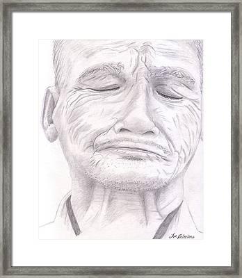 Bou Meng Framed Print