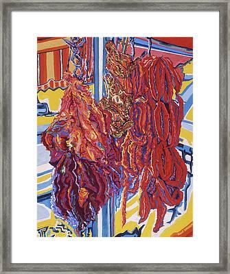Boucherie Hamdane Freres I Framed Print by Robert SORENSEN