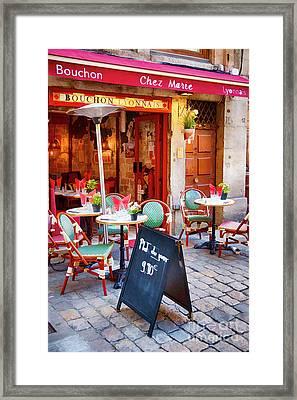 Bouchon Lyonnais Framed Print