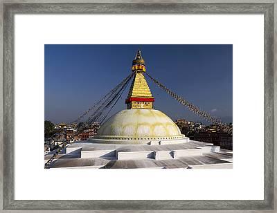 Boudhanath Stupa Framed Print