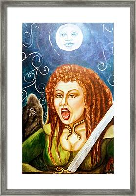 Boudicca  Let Not Our Daughters Be Forgotten Framed Print