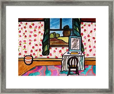 Boudoir Framed Print by John Williams
