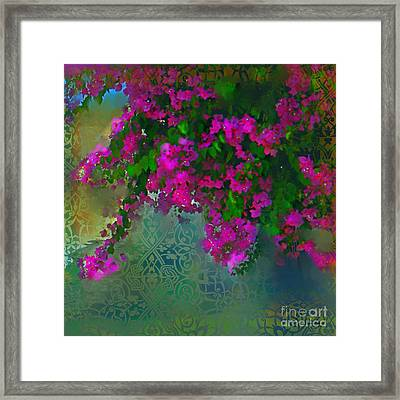 Bougainville Delight Framed Print by Seema Sayyidah