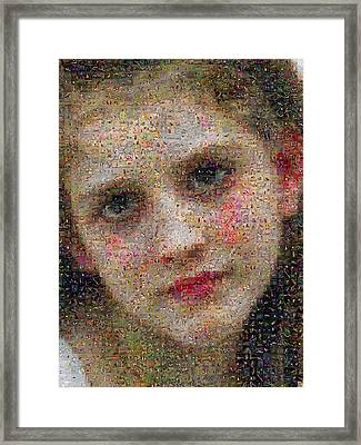 Bouguereau - Avant Le Bain Framed Print by Gilberto Viciedo