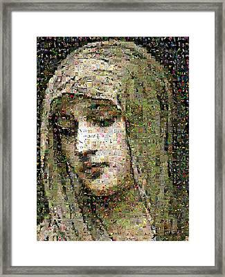 Bouguereau - Modestie Framed Print by Gilberto Viciedo