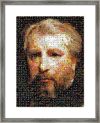 Bouguereau Self Portrait Framed Print by Gilberto Viciedo