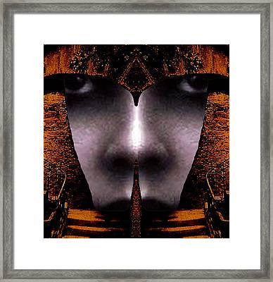 Bouillon Girl Framed Print by Rodger Insh