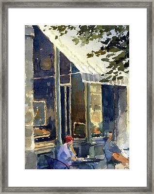 Boulangerie Du Monde, Cedarburg Framed Print