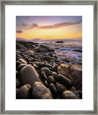 Boulder Beach #2 Framed Print by Benjamin Williamson