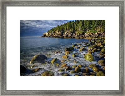 Boulder Beach Morning Framed Print