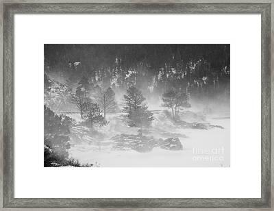 Boulder Canyon And Nederland Winter Landscape Framed Print by James BO  Insogna