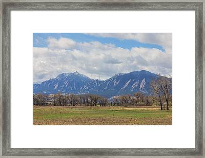 Framed Print featuring the photograph Boulder Colorado Prairie Dog View  by James BO Insogna
