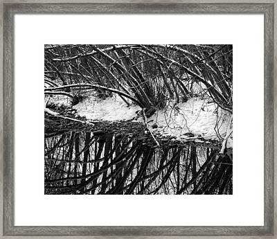 Boulder Creek Framed Print by Marilyn Hunt