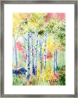 Boulder Grove Framed Print