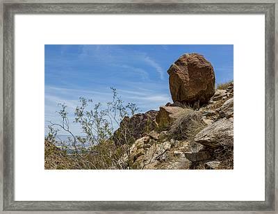 Boulder Framed Print by Kelley King