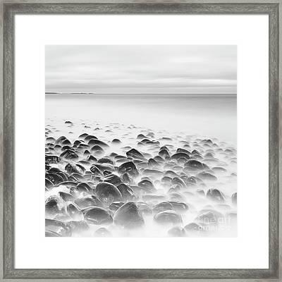 Boulders At Dunstanburgh Framed Print