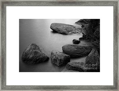 Boulders Framed Print by Idaho Scenic Images Linda Lantzy