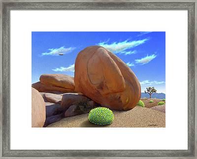 Boulders Framed Print by Snake Jagger