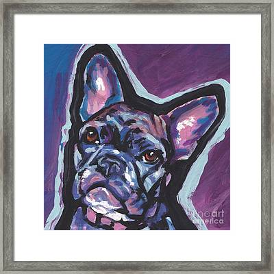 Bouledogue Baby Framed Print by Lea S