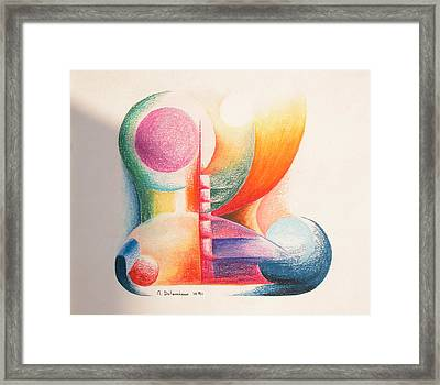 Boulets Framed Print by Muriel Dolemieux