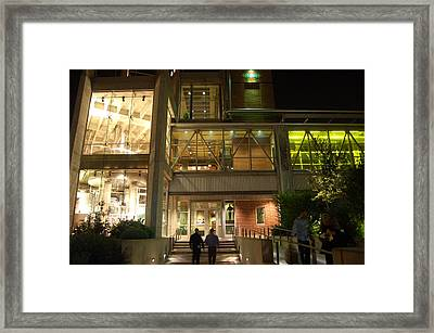 Boulevard At Night Framed Print by Edward Loesch