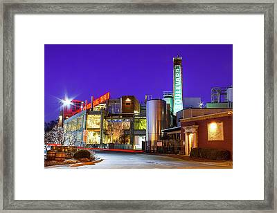 Boulevard Brewing Kansas City Framed Print
