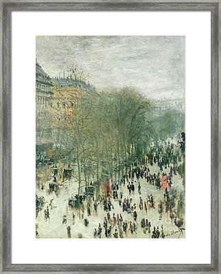 Boulevard Des Capucines Framed Print