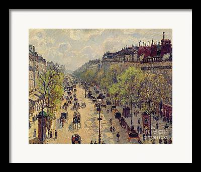Horse And Carriage Framed Prints