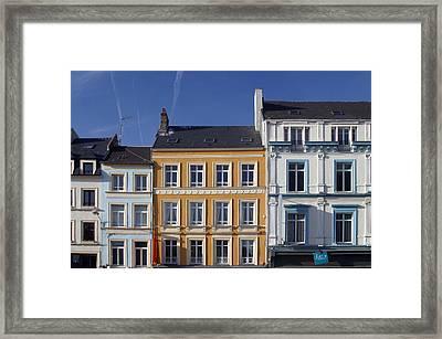 Boulogne Skies Framed Print by Jez C Self