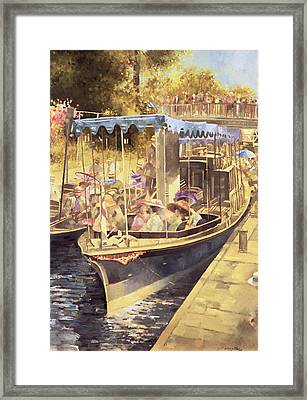 Boulter's Lock Framed Print by Peter Miller