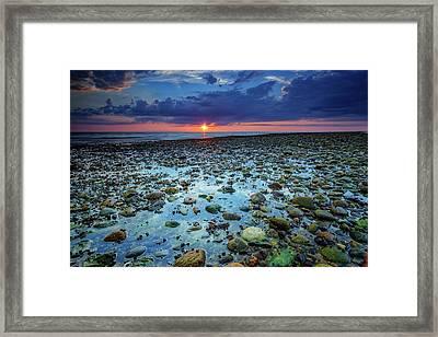Bound Brook Sunset IIi Framed Print