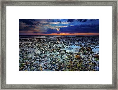 Bound Brook Sunset Framed Print