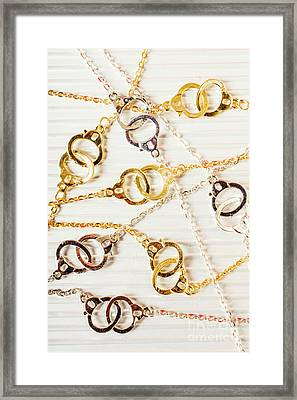 Bound By Love  Framed Print