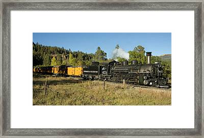 Bound For Durango Framed Print by Jerry McElroy