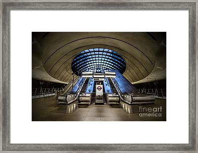 Bound For The Underground Framed Print by Evelina Kremsdorf