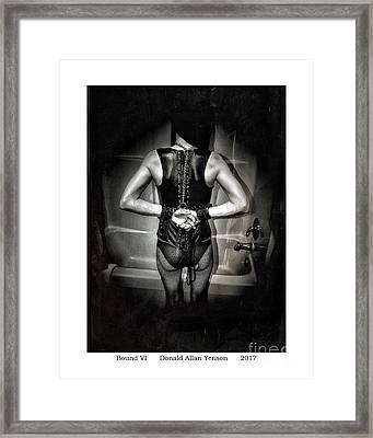 Bound Vi Framed Print