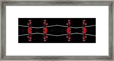 Boundaries Framed Print