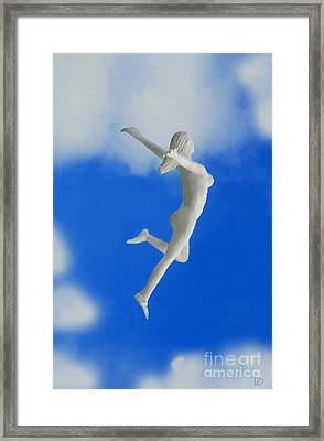 Boundless Woman Framed Print by David Lee Thompson