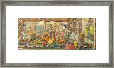 Bountiful Harvest Framed Print