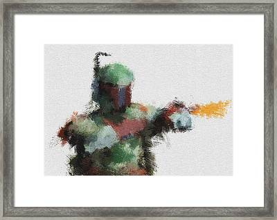 Bounty Hunter Framed Print by Miranda Sether