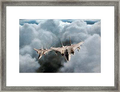Bounty Hunter Section Framed Print by Peter Chilelli